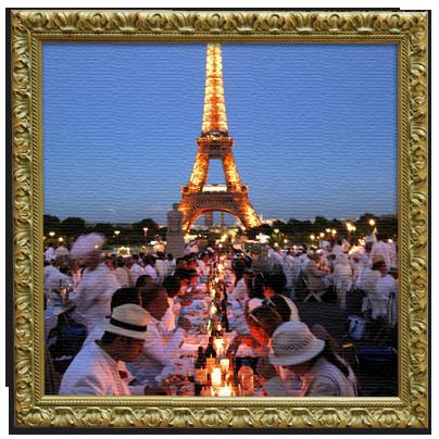 Le Diner en Blanc, el picnic más 'chic'